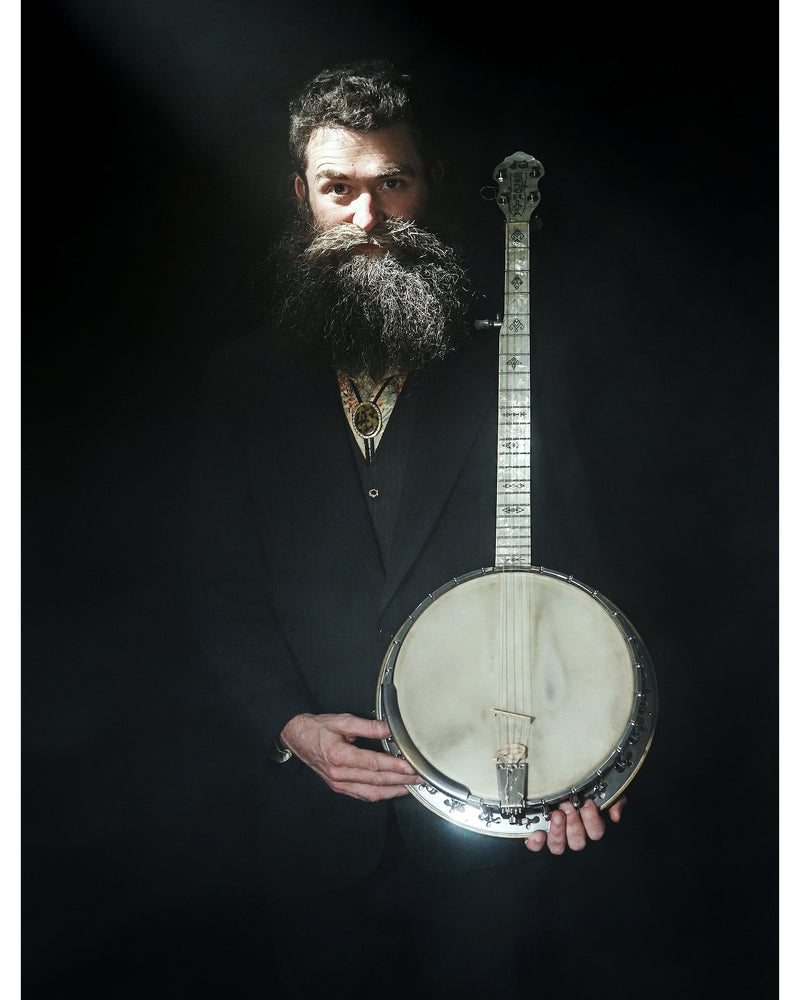 Mysteries of the Five-String Banjo REVEALED w/ Aaron Jonah Lewis | Saturday April 4th, 3-4:30 PM