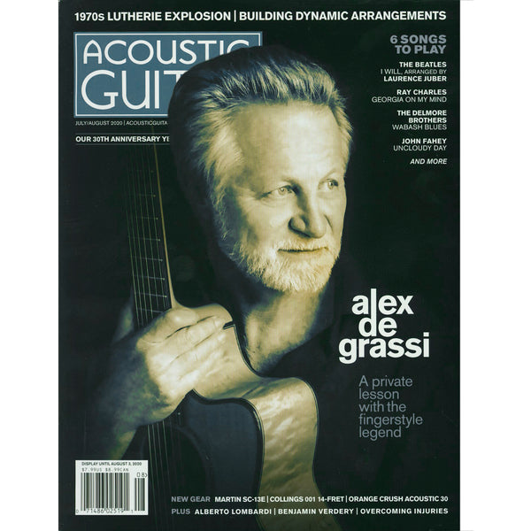 Acoustic Guitar Magazine - July / August 2020