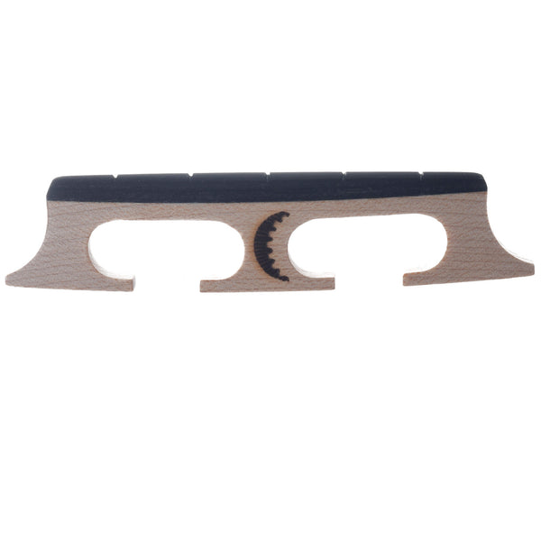Moon Compensated Banjo Bridge, Light, 5/8""