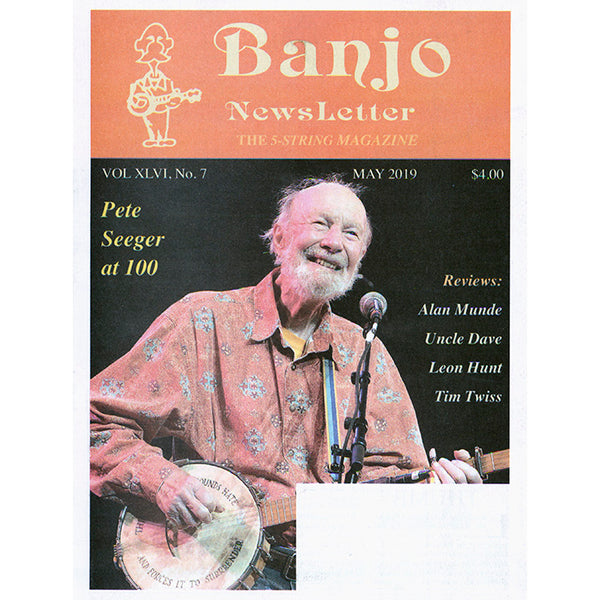 Banjo Newsletter - May 2019 Vol XLVI, No. 7