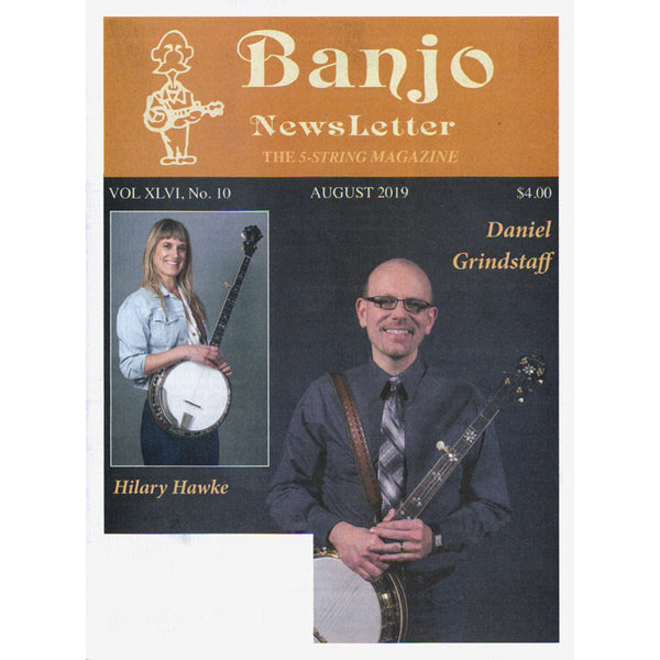 Banjo Newsletter - August 2019 Vol XLVI, No. 10
