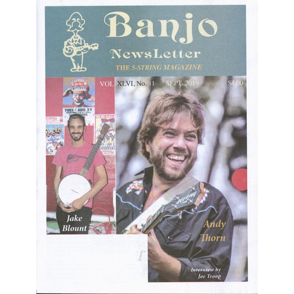 Banjo Newsletter - September 2019 Vol XLVI, No. 11