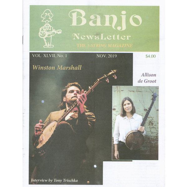 Banjo Newsletter - November 2019 Vol. XLVII, No. 1