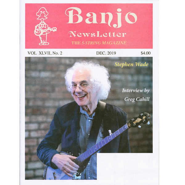 Banjo Newsletter - December 2019 Vol. XLVII, No. 2