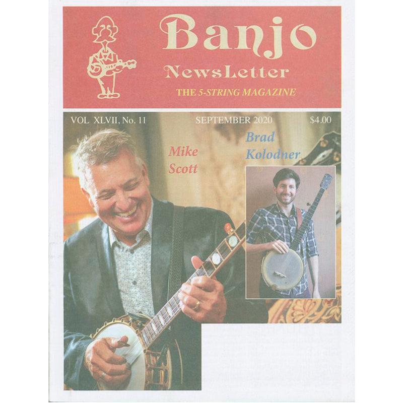 Banjo Newsletter - September 2020, Vol. XLVII, No. 11