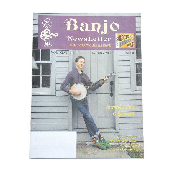 Banjo Newsletter - January 2020, Vol. XLVII, No. 3