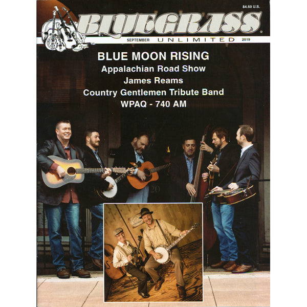 Bluegrass Unlimited September 2019