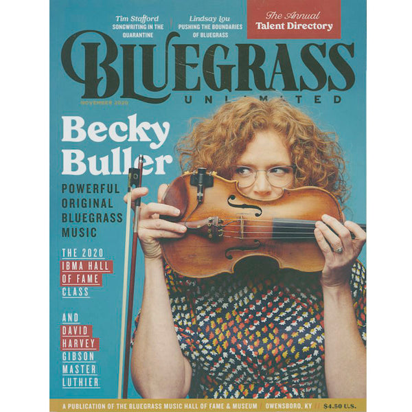 Bluegrass Unlimited - November 2020