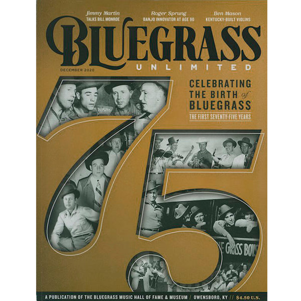 Bluegrass Unlimited - December 2020