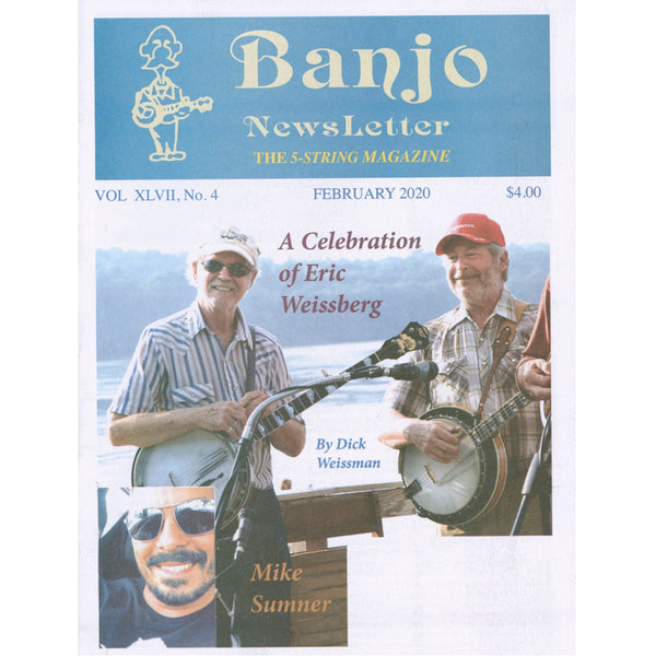 Banjo Newsletter - February 2020, Vol. XLVII, No. 4