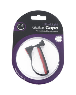 G7TH Ultralight Six-String Guitar Capo, Red