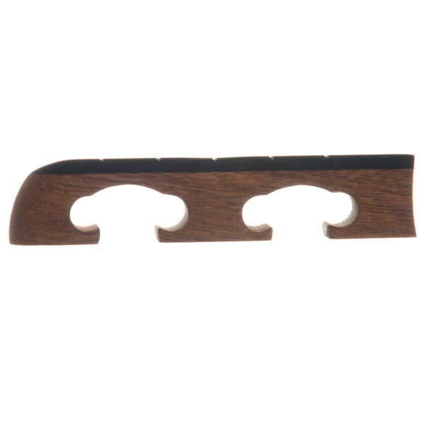 "Sampson Standard Banjo Bridge, 5/8"" Mahogany Standard-Spaced"