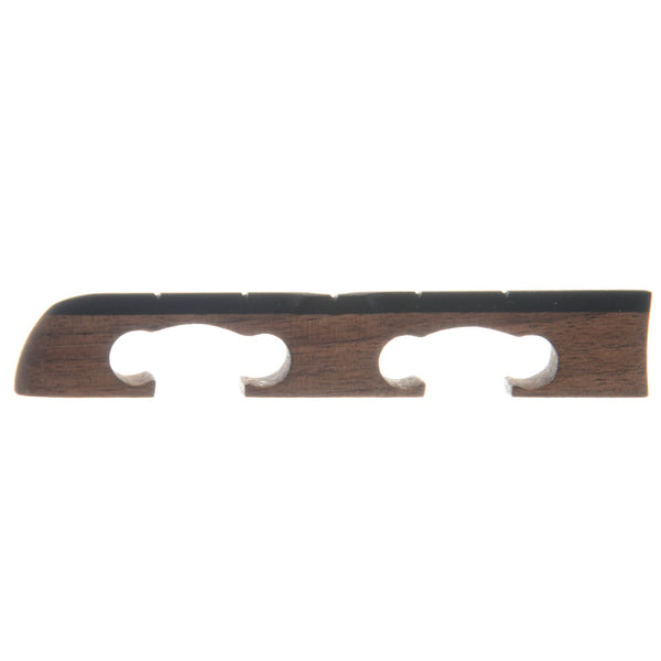 "Sampson Standard Banjo Bridge, 1/2"" Walnut Standard-Spaced"