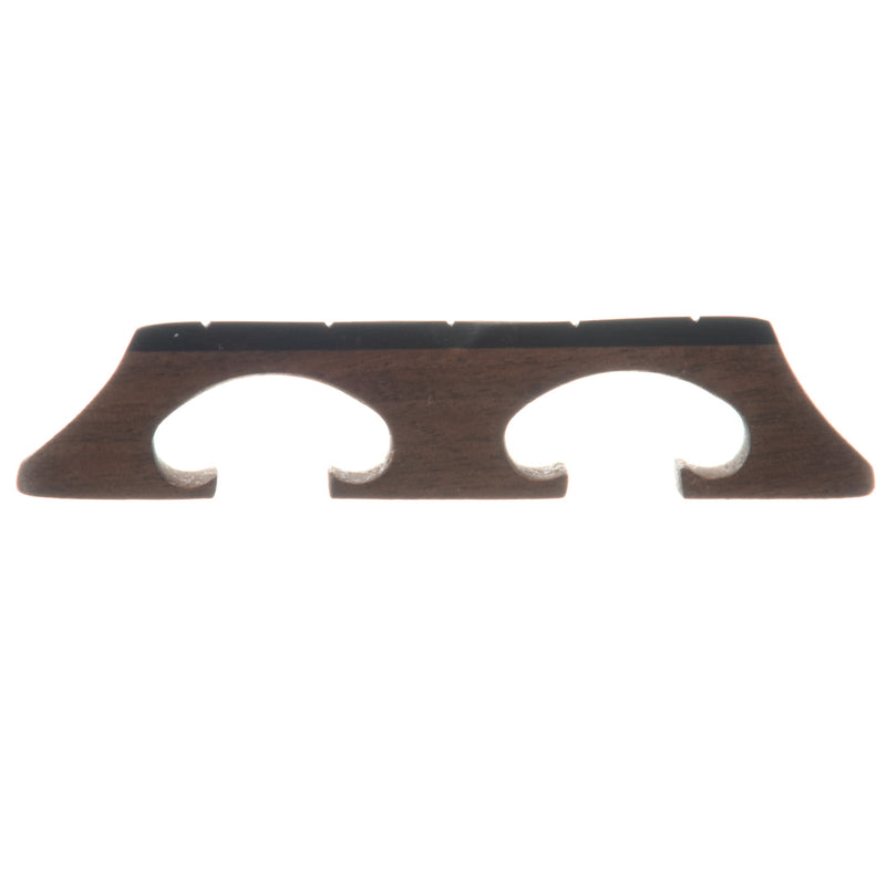 "Sampson Bluegrass Banjo Bridge, 5/8"" Walnut Crowe-Spaced"