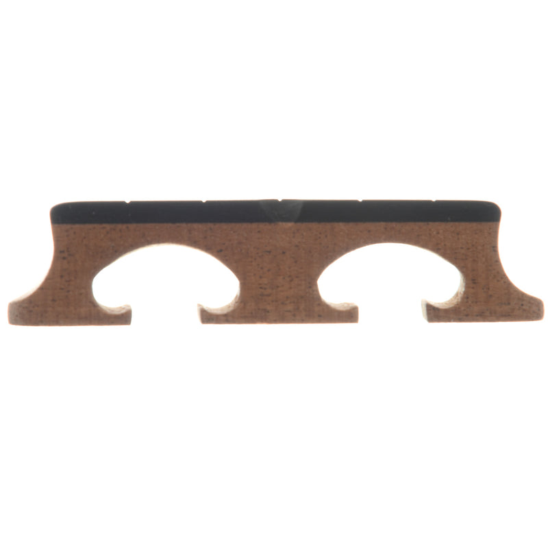 "Sampson Bluegrass Banjo Bridge, 11/16"" Mahogany Crowe-Spaced"