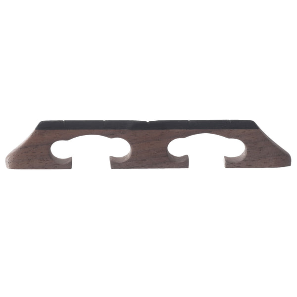 "Sampson Bluegrass Banjo Bridge, 1/2"" Walnut Crowe-Spaced"