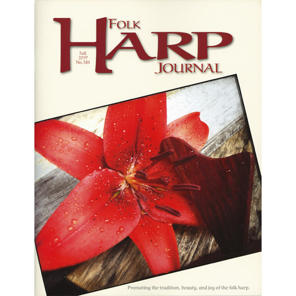 Folk Harp Journal - Fall 2019 Issue #184