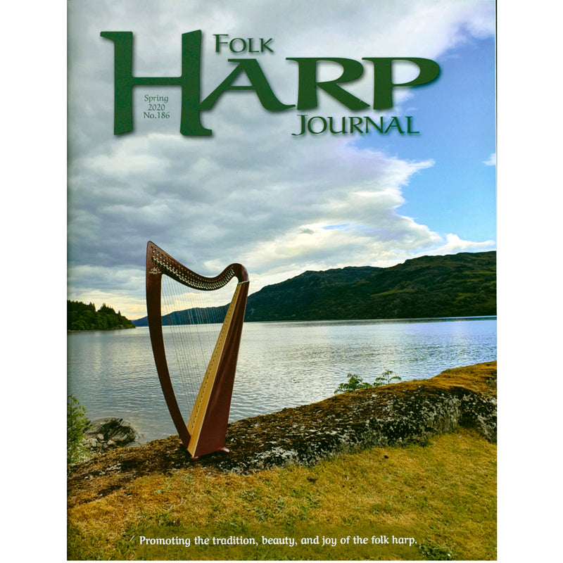Folk Harp Journal - Spring 2020 Issue #186