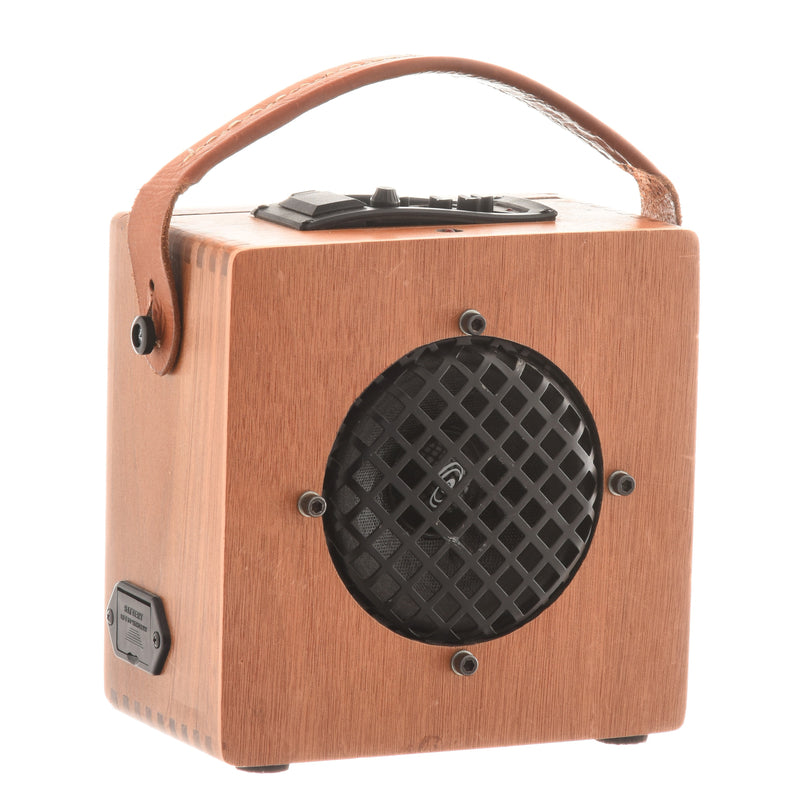Get Down Guitars Battery-Powered Cigar Box Amplifier, with EQ Section