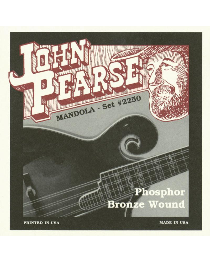 John Pearse 2250 Phosphor Bronze Mandola Strings