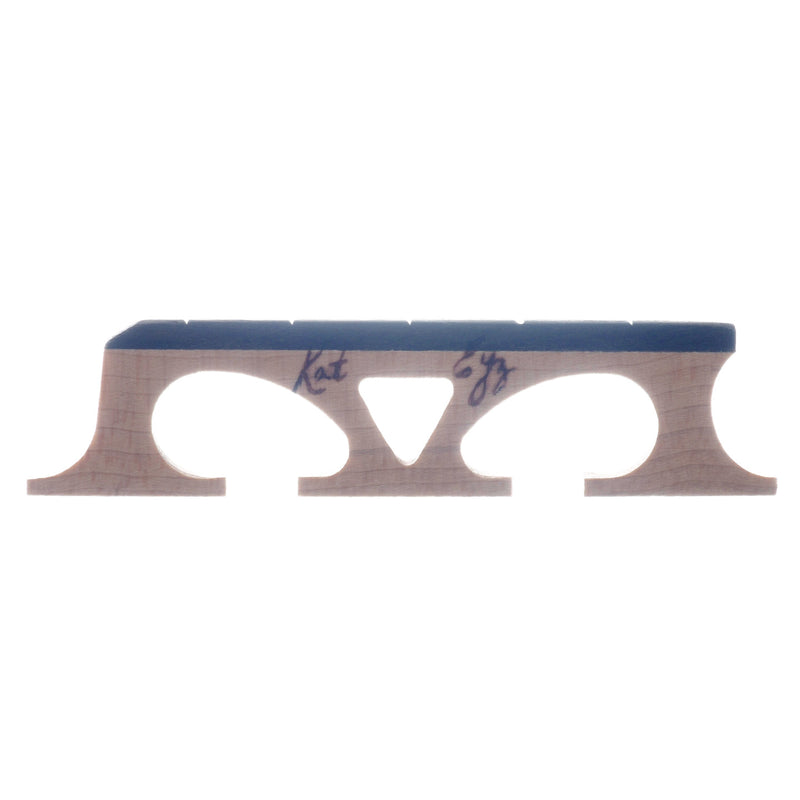 "Kat Eyz Old Wood Banjo Bridge, Crowe Spaced, 11/16"" High"