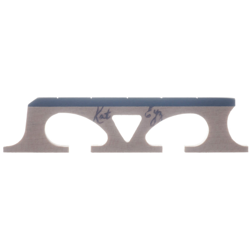 "Kat Eyz Old Wood Banjo Bridge, Standard Spaced, .656"" High"