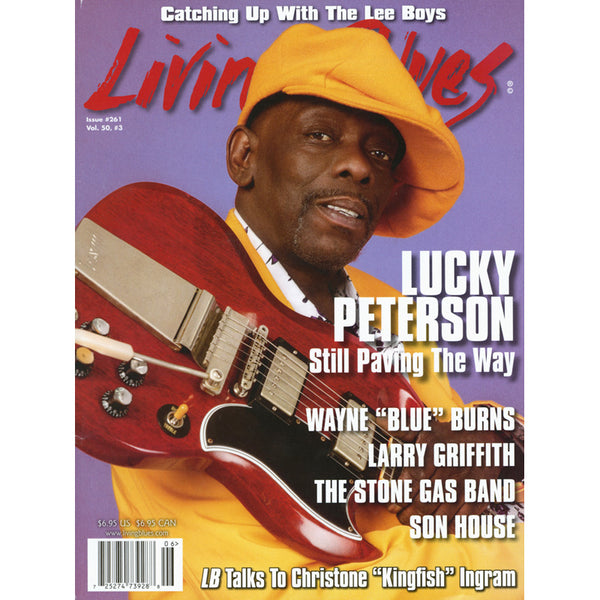 Living Blues June 2019 - Issue #261, Vol. 50, #3