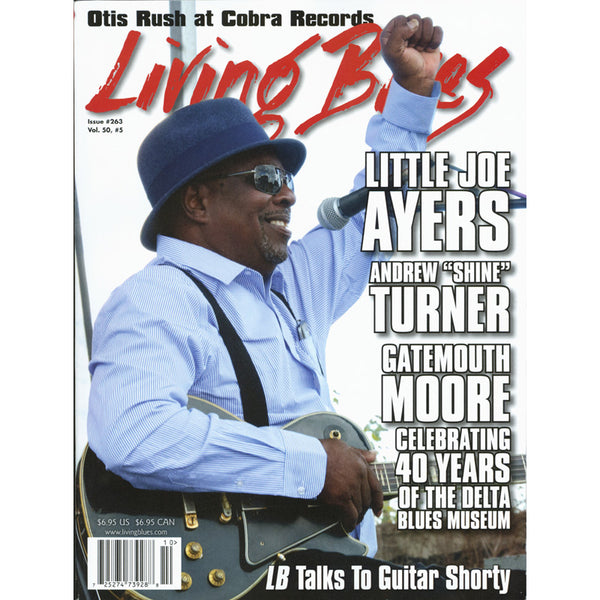 Living Blues October 2019 - Issue #263, Vol. 50, #5