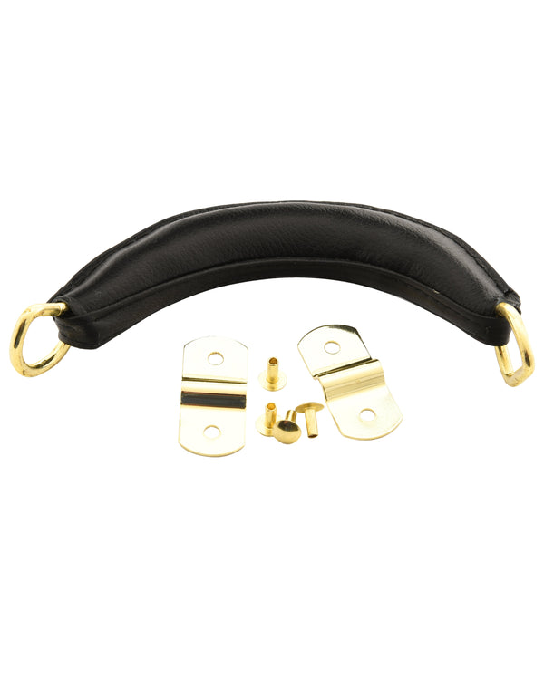 Deluxe Case Handle with Metal Rings & Brackets