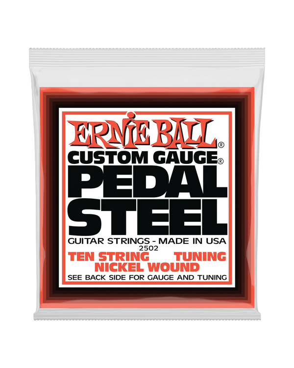 Ernie Ball 2502 Nickel Wound E9 Tuning 10-String Pedal Steel Guitar Strings