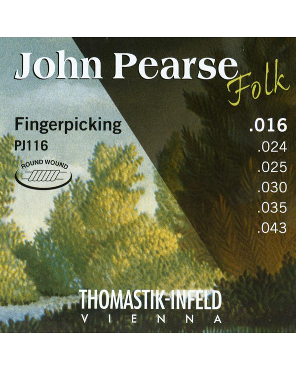 John Pearse Thomastik Fingerpicking Strings