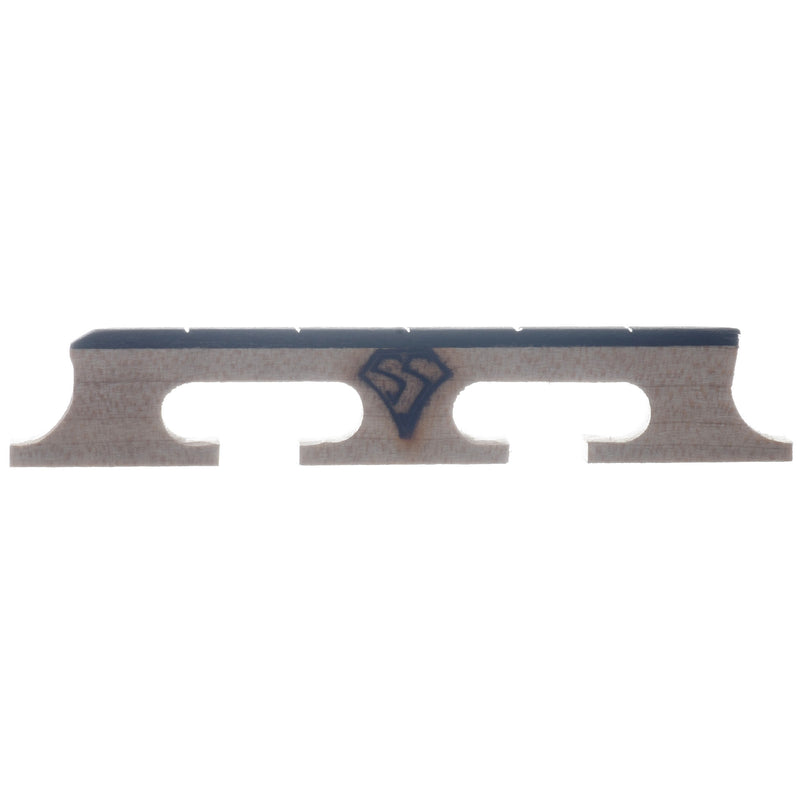"Snuffy Smith New Generation Banjo Bridge, 1/2"" High with Standard Spacing"