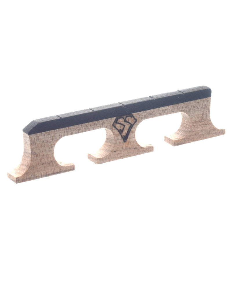 "Snuffy Smith New Generation Banjo Bridge, 5/8"" High with Standard Spacing"
