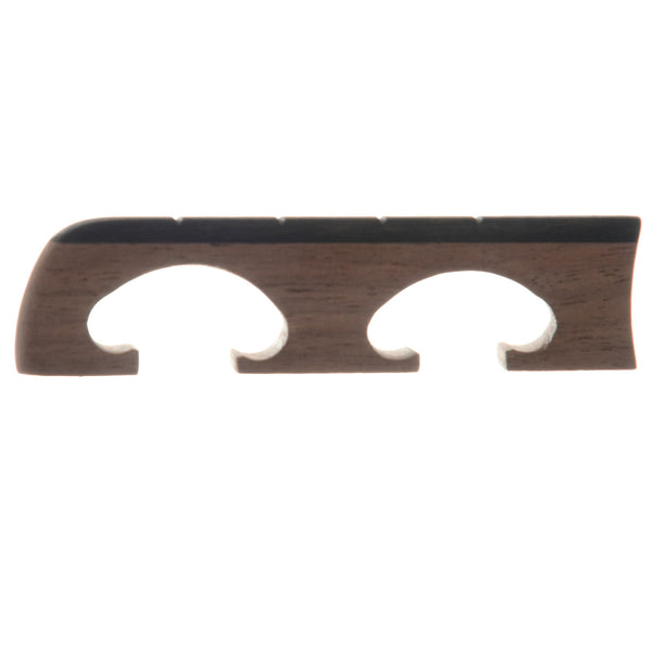 Sampson Tenor Banjo Bridge, Walnut 11/16""