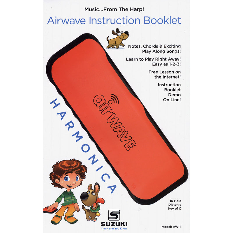 Suzuki AW-1 Air Wave Harmonica for Kids