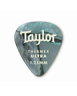 Taylor 351 Thermex Ultra Picks, Abalone, 1.25mm, 6-Pack