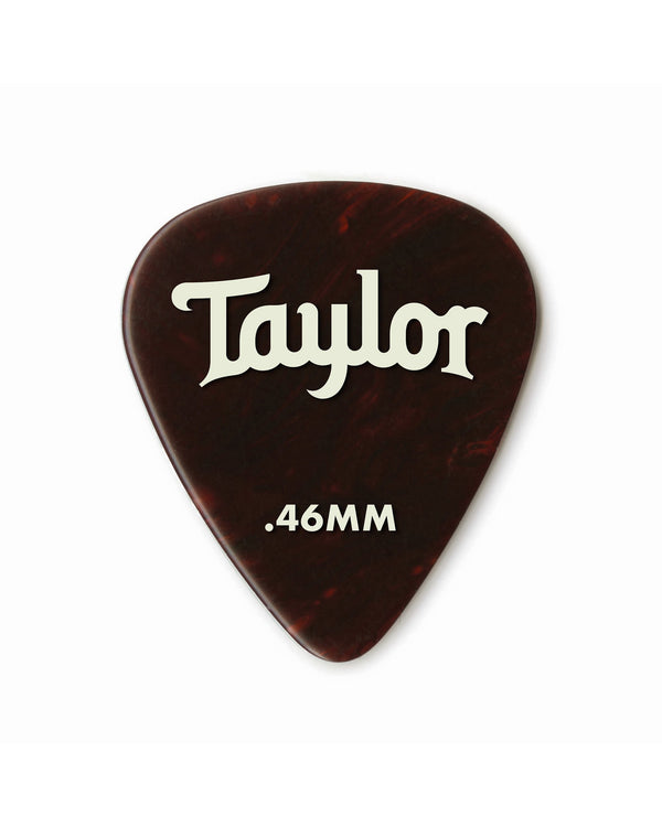Taylor Celluloid 351 Picks, Tortoise Shell, .46mm, 12-Pack