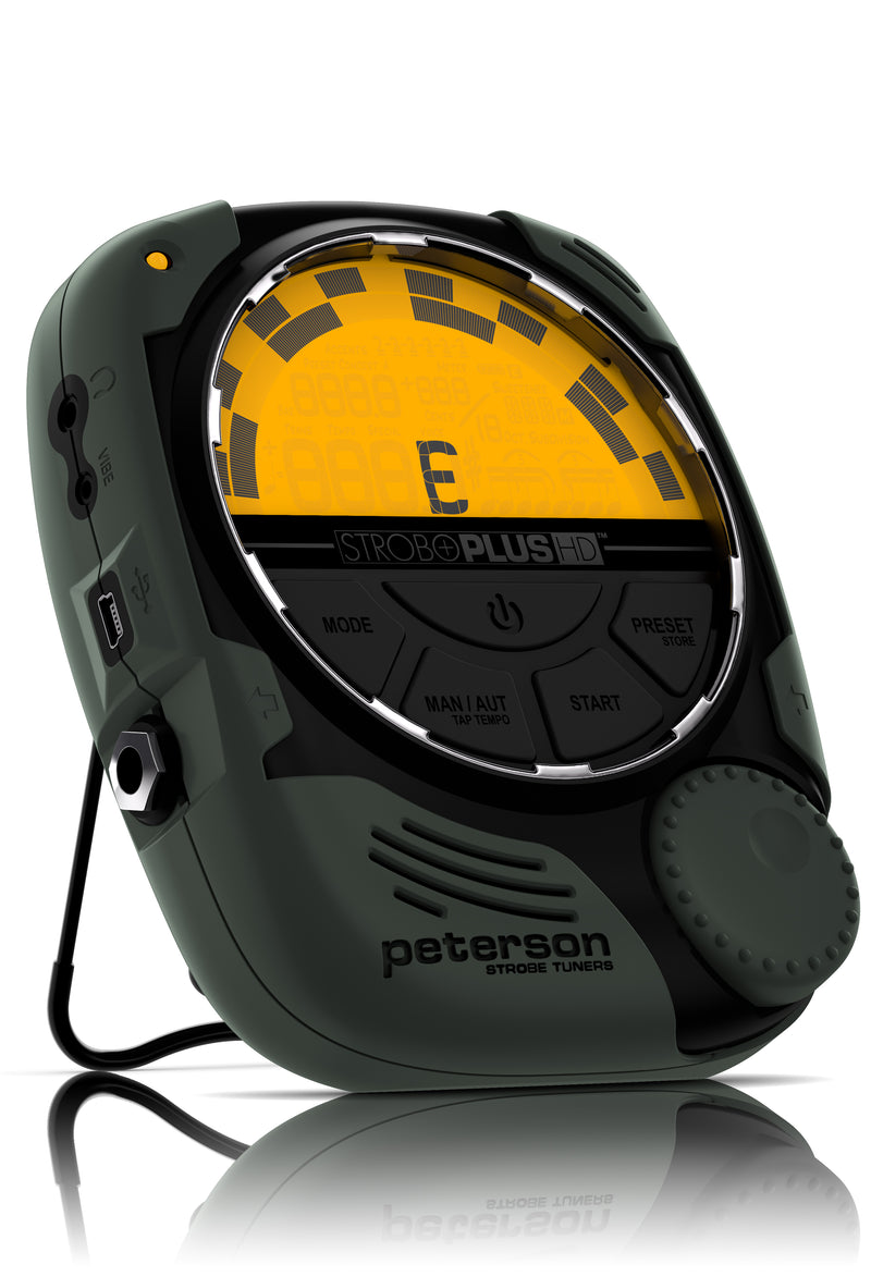 Peterson SP-1 Stroboplus HD Handheld Strobe Tuner with Optional Metronome Function