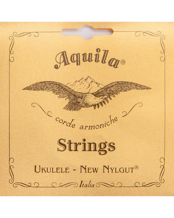 AQUILA 55U CONCERT UKULELE STRING SET, NEW NYLGUT WITH RED 3