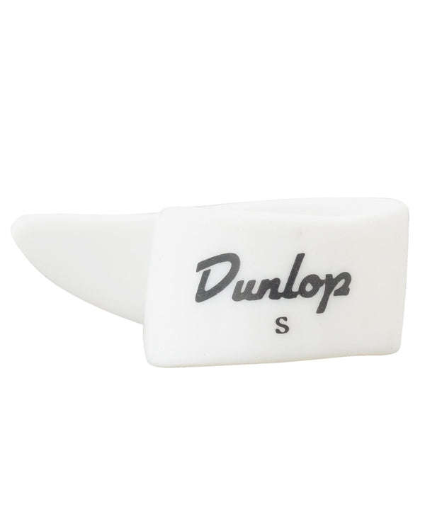 Dunlop White Plastic Thumbpick, Small