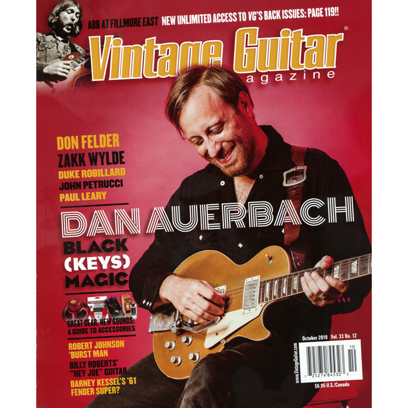 Vintage Guitar Magazine - October 2019