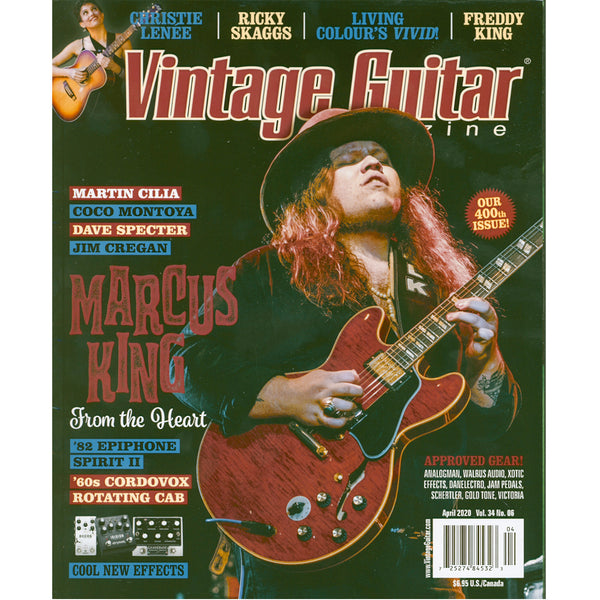 Vintage Guitar Magazine - April 2020