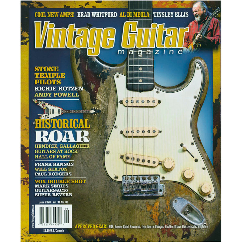 Vintage Guitar Magazine - June 2020