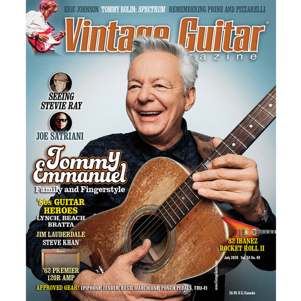 Vintage Guitar Magazine - July 2020