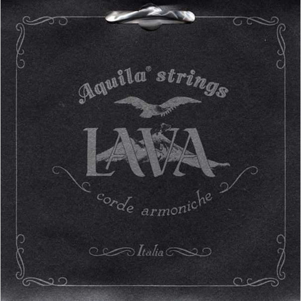 Aquila 117U Baritone Uke String Set, Lava Series, GCEA, No Wound Strings