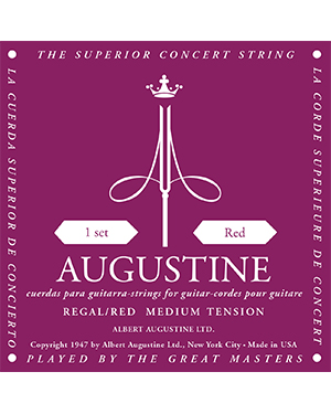 Augustine Regal Red Classical Guitar String Set