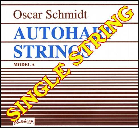 Autoharp Single String, 30F#, A-Model