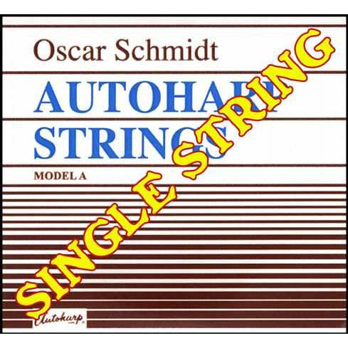 Autoharp Single String, 6F, A-Model