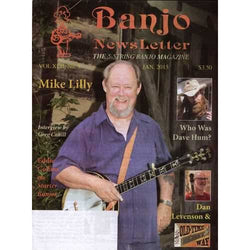 Banjo Newsletter January 2015 Vol. XLII, No. 3