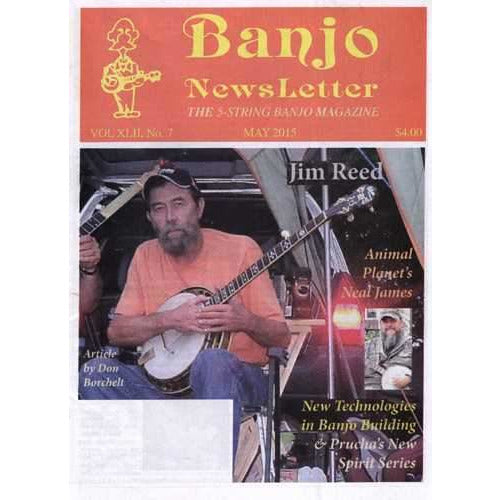 Banjo Newsletter May 2015 Vol. XLII, No. 7